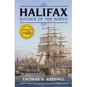 Halifax Warden of the North  by  Thomas H. Raddall