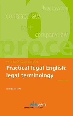 Practical Legal English: Legal Terminology: Second Edition  by  Helen Gubby