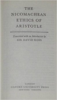 The Nichomachean Ethics of Aristotle  by  Aristotle