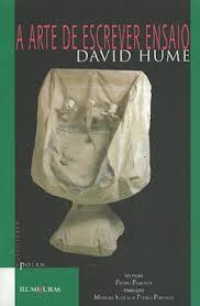 A arte de escrever ensaio  by  David Hume