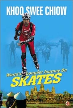 Worlds Longest Journey on Skates Khoo Swee Chiow