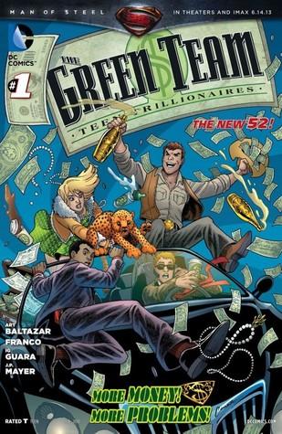 The Green Team: Teen Trillionaires #1 Art Baltazar