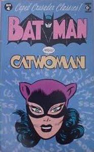 Batman Vs. Catwoman  by  Bob Kane
