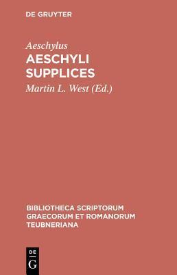 Aeschyli Supplices Aeschylus