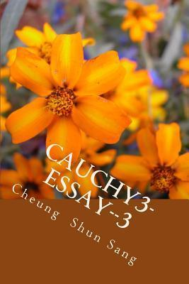 Cauchy3 Essay 3: Think Aloud  by  Cheung Shun Sang