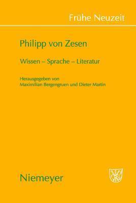 Philipp Von Zesen Maximilian Bergengruen