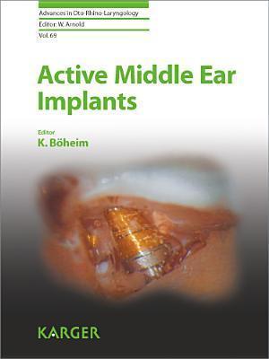 Active Middle Ear Implants K Boheim