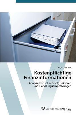 Kostenpflichtige Finanzinformationen Metzger Gregor