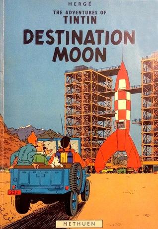 Destination Moon Hergé