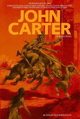 John Carter:  Adventures on Mars Collection Edgar Rice Burroughs