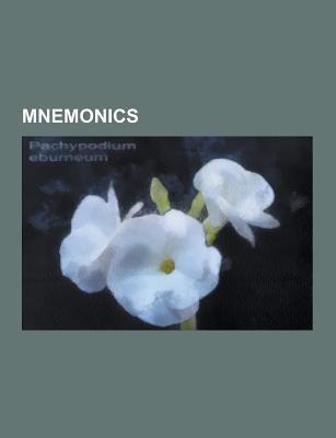 Mnemonics: Mnemonic, Mnemonic Peg System, Xyzzy, Electronic Color Code, Mnemonic Dominic System, Simonides of Ceos, Mnemonic Link Source Wikipedia
