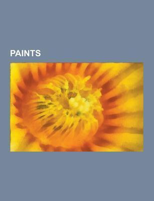 Paints: Acrylic Paint, Tempera, Painterwork, Oil Paint, Lead Paint, Anti-Graffiti Coating, Primer, Stain Blocking Primers, Pon  by  Source Wikipedia