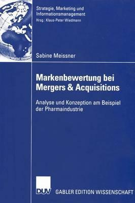 Markenbewertung Bei Mergers & Acquisitions Sabine Meissner