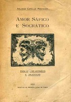 Amor Sáfico e Socrático  by  Arlindo Camillo Monteiro