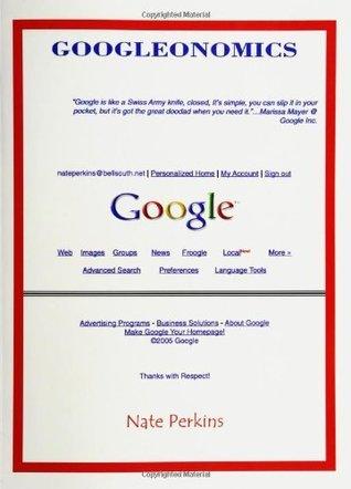 Googleonomics Nate Perkins