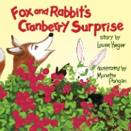 Fox and Rabbits Cranberry Surprise Laurel Heger