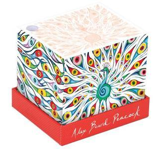 Alex Beard Peacock Memo Block Alex Beard