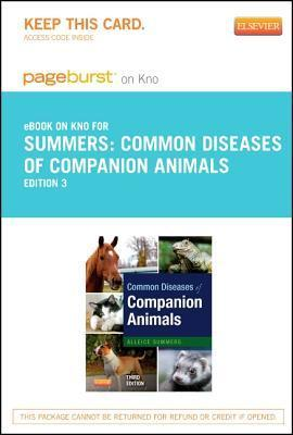 Common Diseases of Companion Animals - Elsevier E-Book on Intel Education Study  by  Alleice Summers