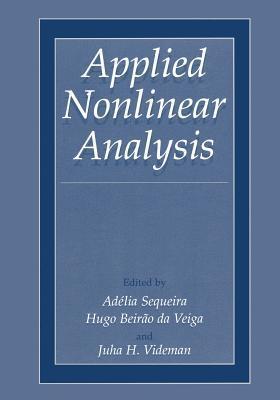Applied Nonlinear Analysis Adélia Sequeira