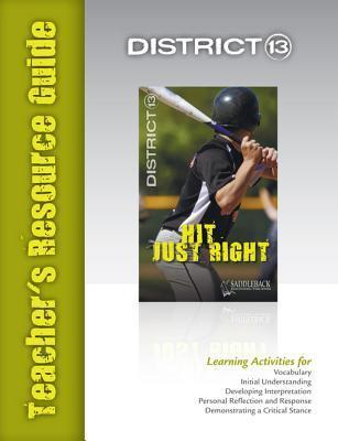 Hit Just Right Teachers Resource Guide  by  Saddleback Educational Publishing