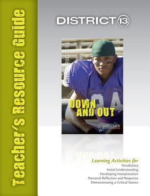 Down and Out Teachers Resource Guide  by  Saddleback Educational Publishing
