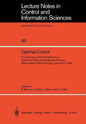 Computational Optimal Control  by  Roland Bulirsch