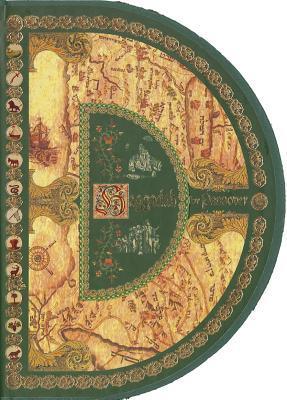 The Round Haggadah Hebrew - English  by  David Arnon