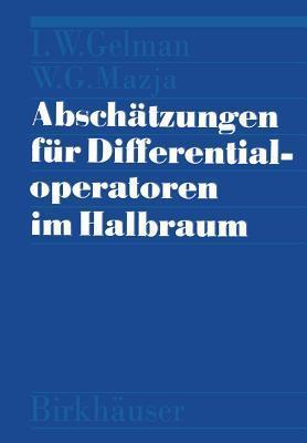 Abschatzungen Fur Differentialoperatoren Im Halbraum Mazja