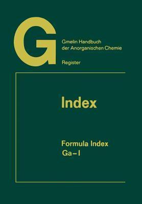 Index: Formula Index Ga-I Rudolf Warncke