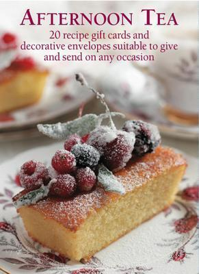 Afternoon Tea Recipe Giftcards Anness Publishing