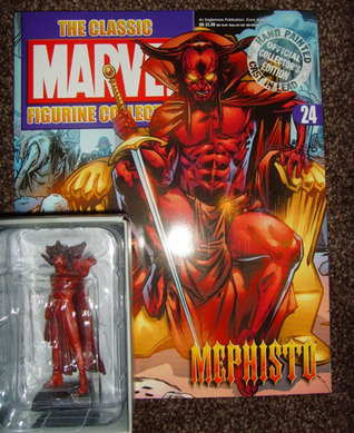 the Classic Marvel Figurine Collection 24 Mephisto Stan Lee