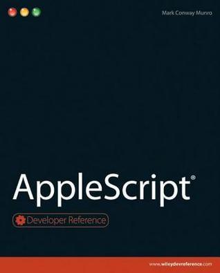 AppleScript  by  Mark Conway Munro
