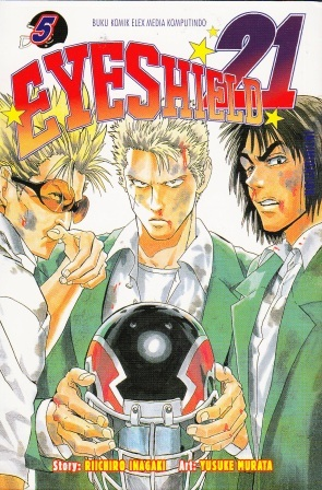 Eyeshield 21 Vol. 5: Powerful  by  Riichiro Inagaki
