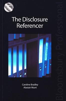 The Disclosure Referencer Caroline Bradley