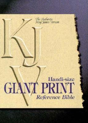 Hand Size Giant Print Reference Bible  by  World Publishing Company