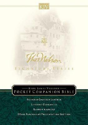 KJV Pocket Companion Bible: Signatures Series Edition  by  Anonymous