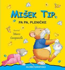 Mišek Tip: Pa pa, pleničke  by  Anna Casalis
