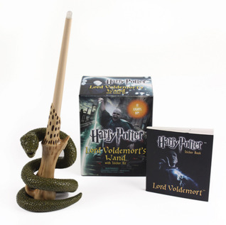 Harry Potter Voldemorts Wand with Sticker Kit: Lights Up!  by  Running Press