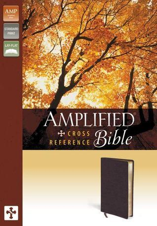 Amplified, Cross-Reference Bible, Bonded Leather, Burgundy  by  Anonymous
