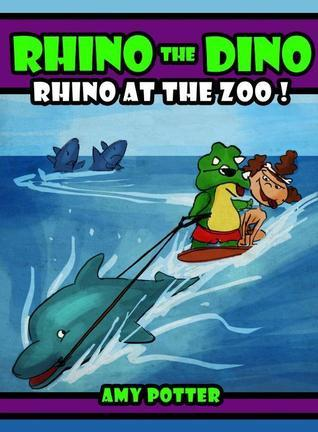 Rhino at the Zoo! (Rhino the Dino, #2)  by  Amy Potter