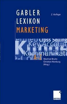 Gabler Lexikon Marketing Manfred Bruhn