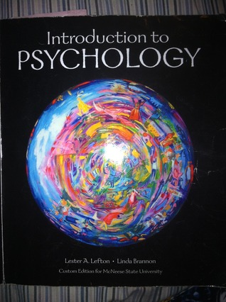 Psychology (Custom Edition For Norther Illinois University)  by  Lester A. Lefton