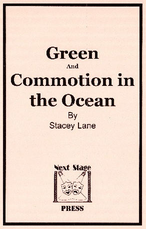 Green and Commotion in the Ocean  by  Stacey Lane