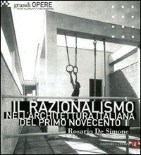 Il razionalismo nellarchitettura italiana del primo Novecento Rosario De Simone