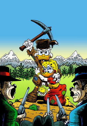 The Prisoner of White Agony Creek  by  Don Rosa