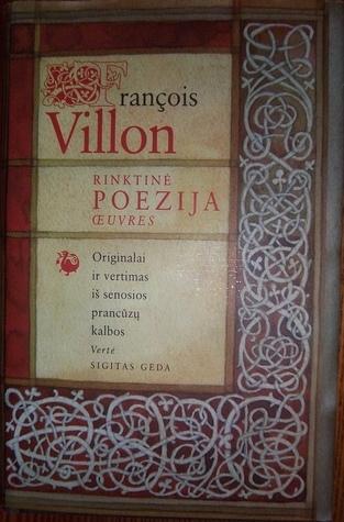 Rinktinė poezija  by  François Villon