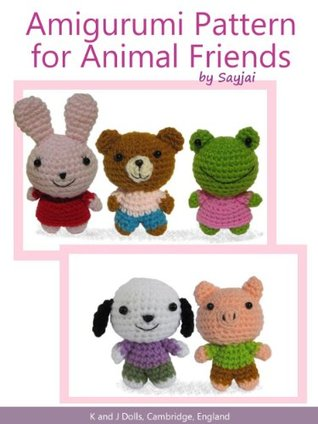 Amigurumi Pattern for Animal Friends Sayjai