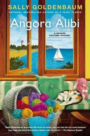 Angora Alibi: A Seaside Knitters Mystery Sally Goldenbaum