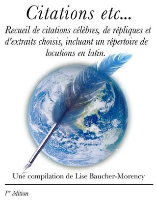 Citations etc... Lise Baucher-Morency