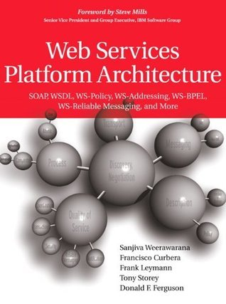 Web Services Platform Architecture: SOAP, WSDL, WS-Policy, WS-Addressing, WS-BPEL, WS-Reliable Messaging, and More  by  Sanjiva Weerawarana
